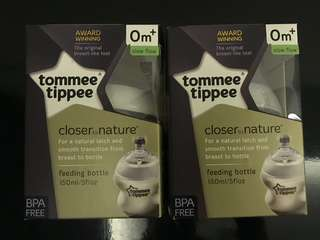 Tommee Tippee bottle (RM20 each)