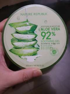 NATURE REPUBLIC (KOREA BOUGHT) SOOTHING AND MOISTURE ALOE VERA