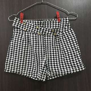 Celana highwaist motif