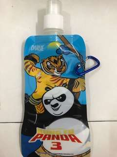 Panda plastic bottle