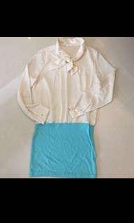 $12 (Brand New) Ribbon Chiffon Dress