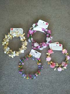 FUN FLOWER CROWNS CHEAP