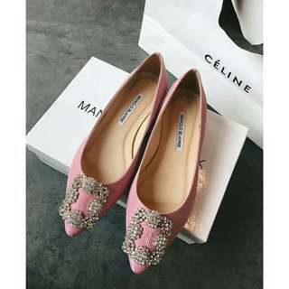 Manolo Blahnik flat/heels