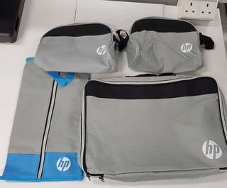 HP limited edition multipurpose organizer bag