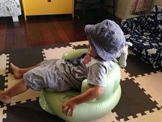 🚚 baby充氣沙發餵食椅