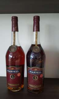 Martell VSOP 25 yrs old and 35 yrs old