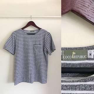 Coco Republic Striped Shirt
