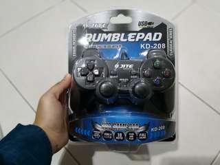 Jite PC Rumblepad KD-208 USB Game Pad Classical Series