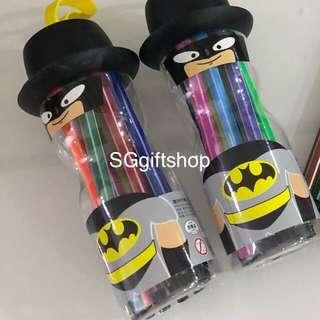 Magic color- Batman theme for children party goodies favors, goodie bag packages