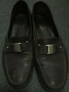 Authentic Vintage Ferragamo Penny Loafers