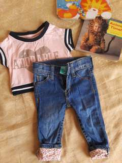 Outfit for baby girl