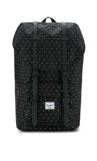 Herschel Supply Co. Little America Backpack Black Gridlock