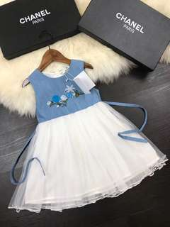 Girl Dress by Chanel (1:1 High Quality)