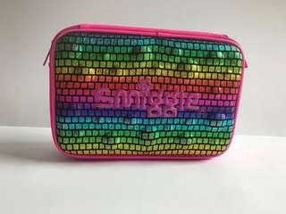 Smiggle double up large rainbow scale hardtop pencil case