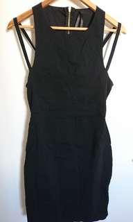 Ally black Mini dress