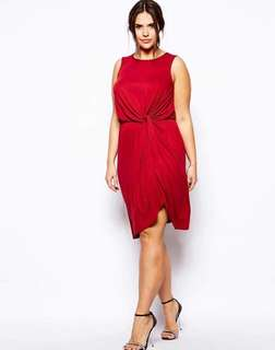 💋Knotted Plus Size Dress