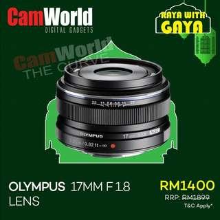 OLYMPUS 17mm f1.8