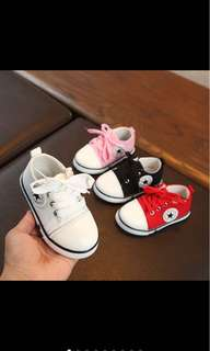Inspired Converse Sneakers sport shoes canvas shoes baby boy girl soft shoes prewalker infant newborn toddler