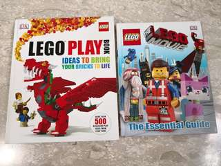 Lego play book with free lego movie book