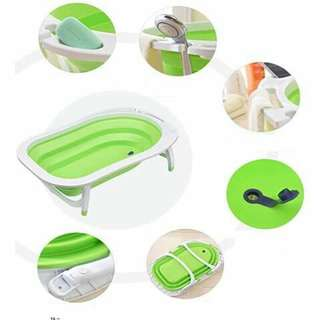 Foldable Baby Bath Tub - GREEN