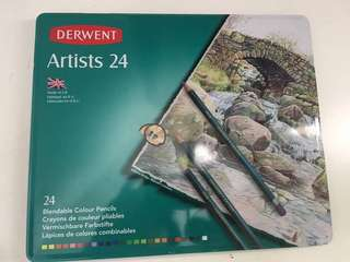 Derwent Artist 24 Colour Pencils