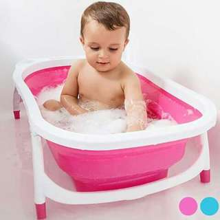 Foldable Baby Bath Tub - PINK