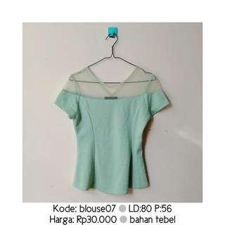 Mint & Co. Green Blouse