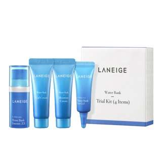Laneige Water Bank Trial Kit (4 items)
