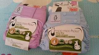 BN Moo Moo Kow One Size Cloth Diaper