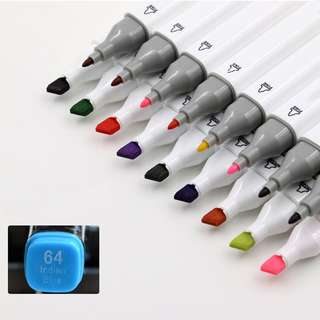 Marker Set of 80 colors Animation Art Sketch alcohol markers double tip pen ZXYI