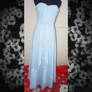 Blue Pretty Gown
