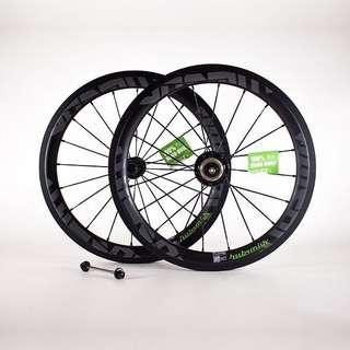Brompton wheelset hubsmith premium quality