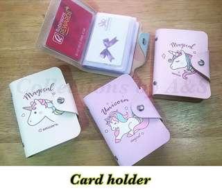 Unicorn card holder 🦄💗