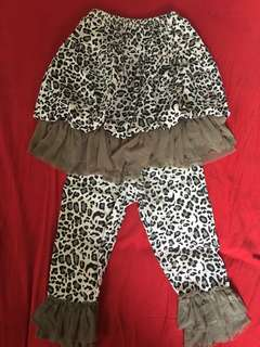 Crib couture 12months can fit til 18months
