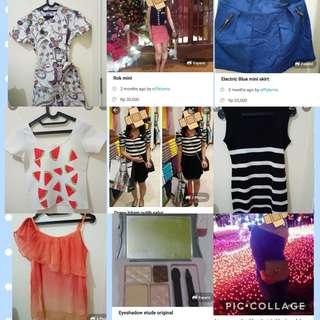 Top & skirt all item @25k SALE!