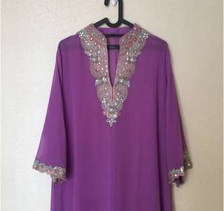 NEW Kaftan Purple