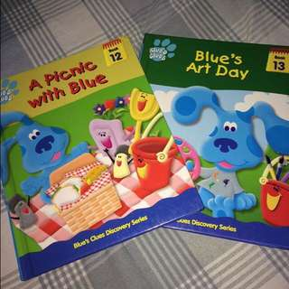 blue's clues books