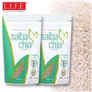 高血壓降有機超營奇亞籽 200克 (家庭裝) x 2 Organic L.I.F.E. Chia Seed Award-winning 200g x 2