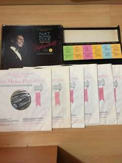 Nat king cole Boxset -6 LP