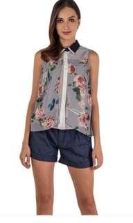 Plains and Prints Kelvyn sleeveless top