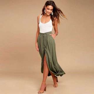 💋Maxi Buttoned Down Skirt