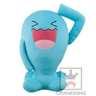 INSTOCK Authentic Pokemon wobbuffet Super Huge Gigantic Plush Toy Plushie Soft Toy Brand new with tag From Japan