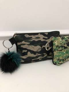 Clutch bag / cosmetic pouch