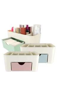 🚚 桌上分隔儲物盒 化妝品首飾整理