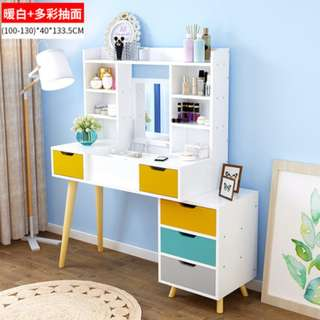 Nordic style dressing table multifunctional Storage table
