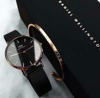 💯Auth DW watch with bangle