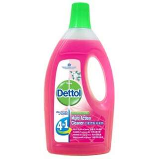 Dettol Multi Action Cleaner 1.5L+FOC 500ml