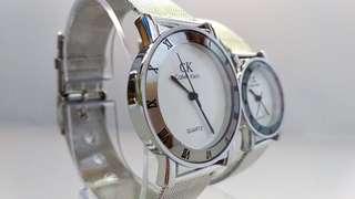 Jam tangan fashoin CK tali pasir
