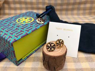 Tory Burch 2018 Black Stud earrings