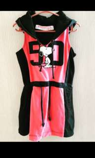 Snoopy Dress with Hood